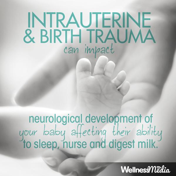 intrauterine birth trauma